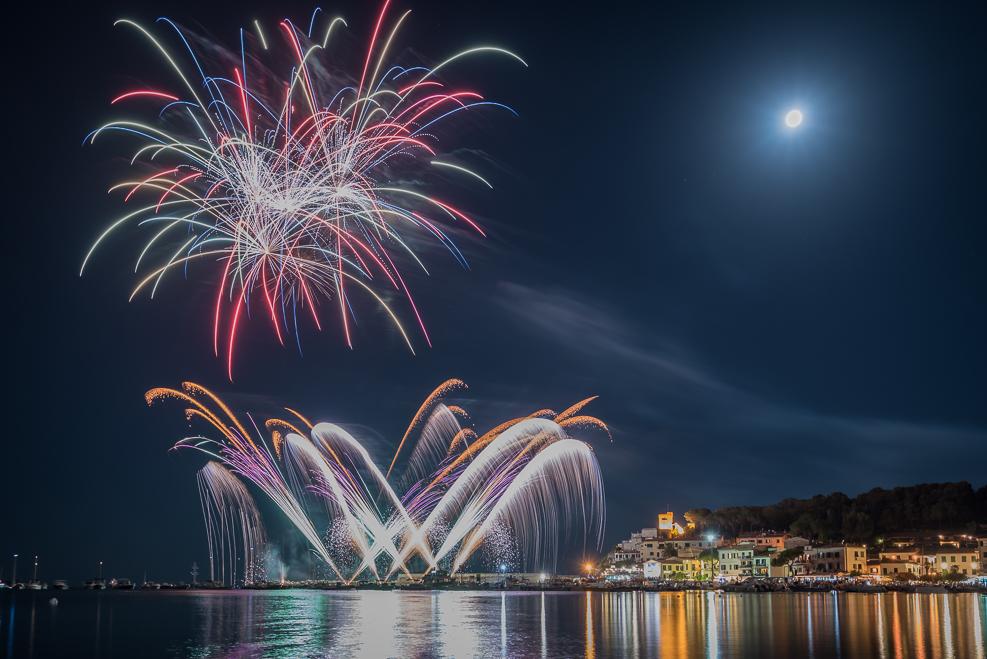 Fireworks Marina di Campo Elba Estate 2017 66