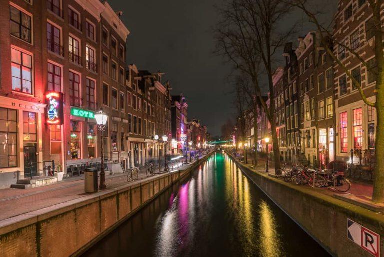 Amsterdam Night Clouds Water 46