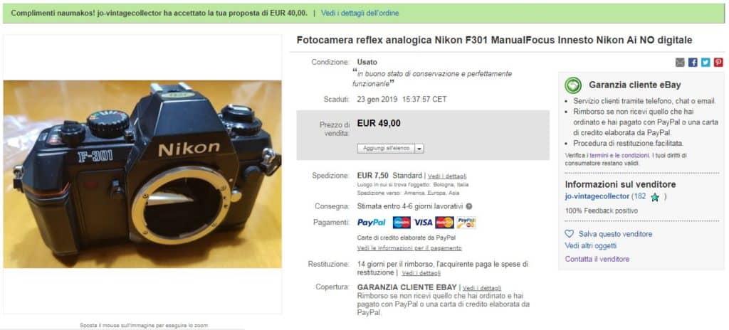 F301 eBay Cristiano Cortonesi