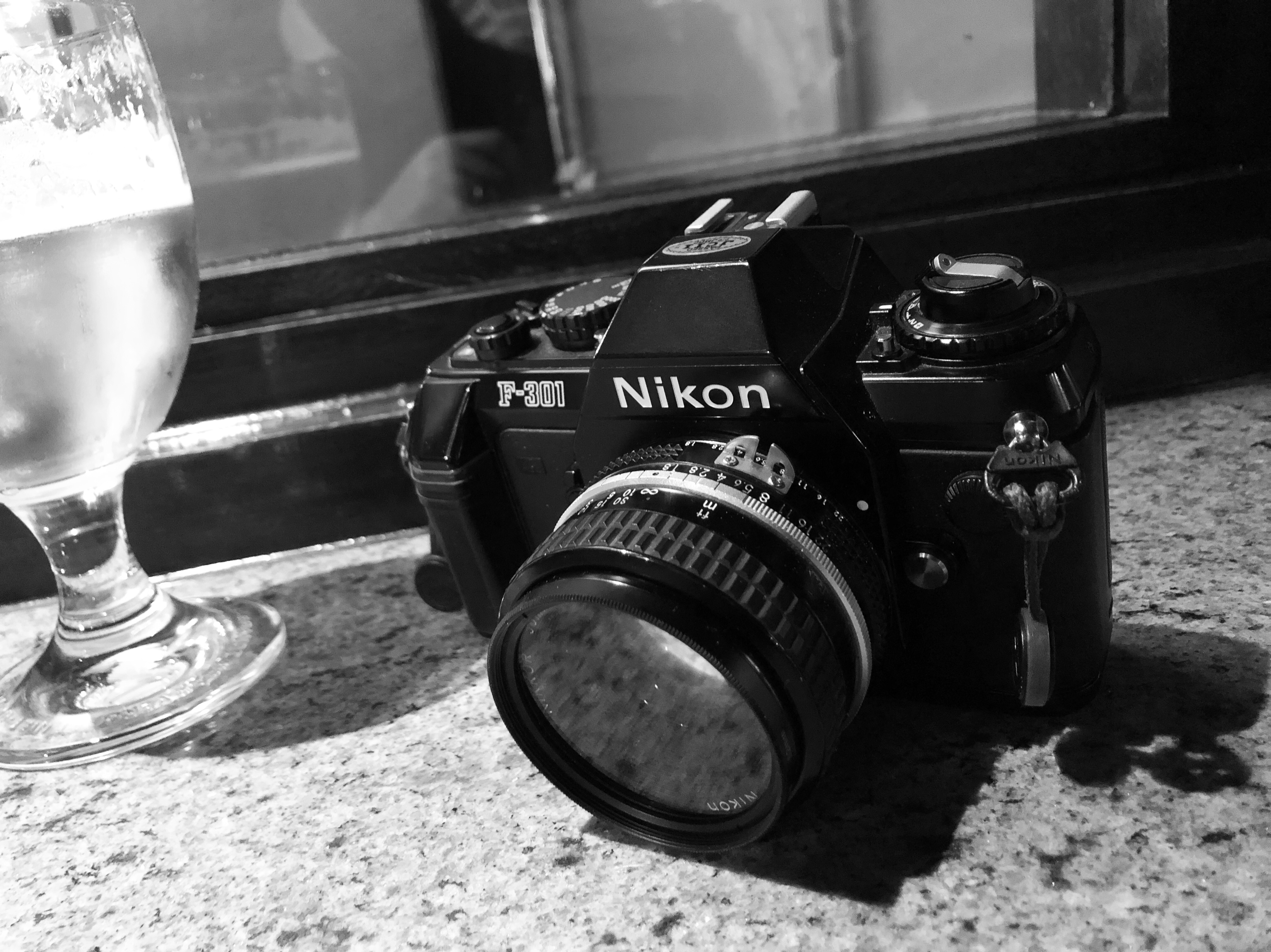 Nikon F301 Brussels Cristiano Cortonesi